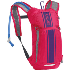 CamelBak Mini M.U.L.E. Hydration Pack 1,5L Kids hot pink/purple stripe
